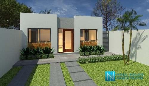 Proyecto Para Casa Minimalista De 57 M2 A La Venta En Cuernavaca, Morelos