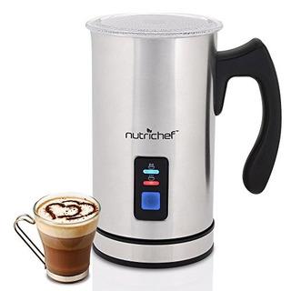 Nutichef Pkmfr14 Espumador De Leche Cafe Latte Capuchino