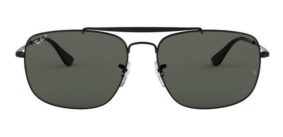 Óculos De Sol Ray Ban The Colonel Rb3560l 002/58 61 3p