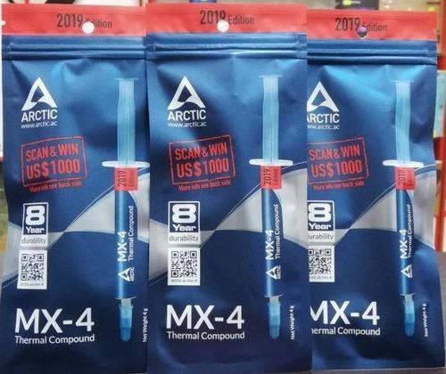 Pasta Termica Arctic Mx-4 Para Todos Los Enfriadores.