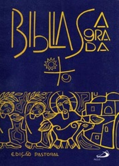 Biblia Sagrada Pastoral - Media Capa Cristal - Paulus