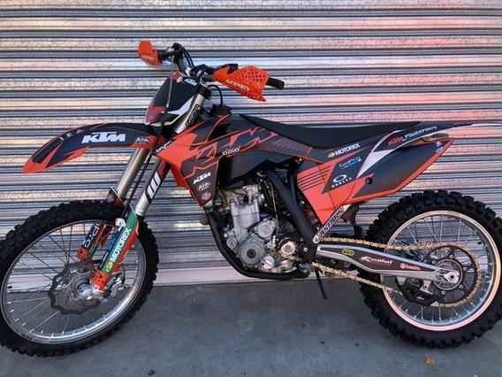 Ktm Sxf 350 Cross Año 2011 Con 60 Hs De Uso Pro Seven!!