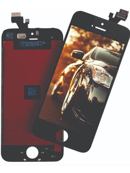 Frontal Display Tela iPhone 7g A1660 A1778 Preto Envio N Dia