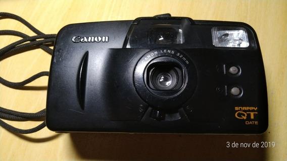 Câmera Fotográfica Canon Snappy Qt Date 32mm. Não Testado.