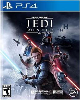Star Wars Jedi Fallen Order Ps4 (nuevo Y Sellado De Fabrica)