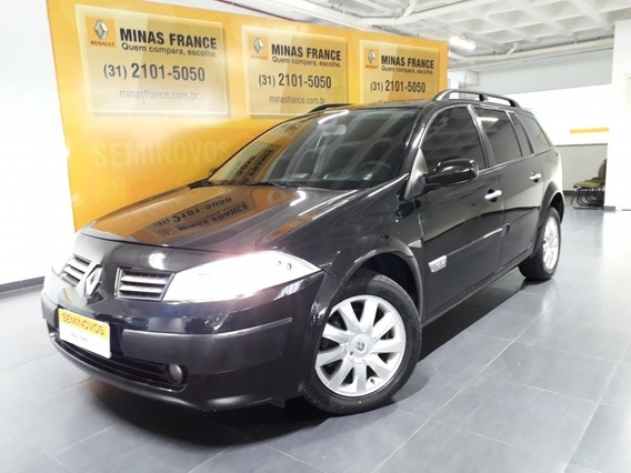 Mégane 1.6 Dynamique Grand Tour 16v Flex 4p Manual 66710km