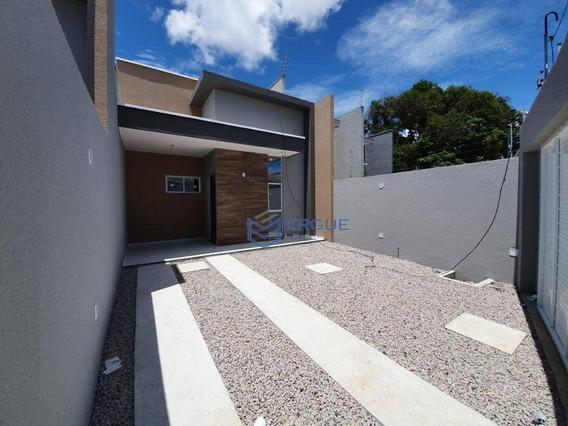 Casa Com 3 Dormitórios À Venda, 100 M² Por R$ 250.000,00 - Messejana - Fortaleza/ce - Ca0981