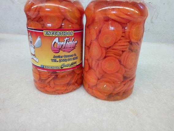 Venta Zanahoria Conserva Encurtida En Vinagre 8kg. Peso Net