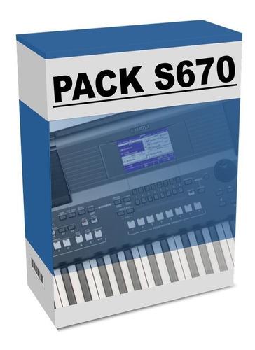 Pack Pro V2 S670 Feito Por Thiago Ribeiro