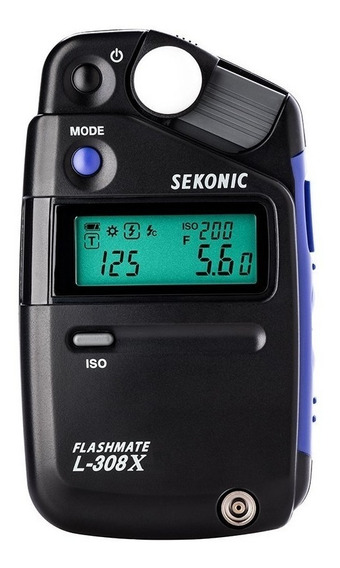 Fotômetro Sekonic L-308x Medidor De Luz Lançamento