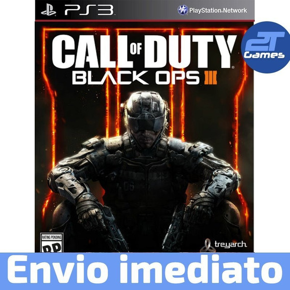 Call Of Duty Black Ops 3 Ps3 Psn Digital Envio Imediato!