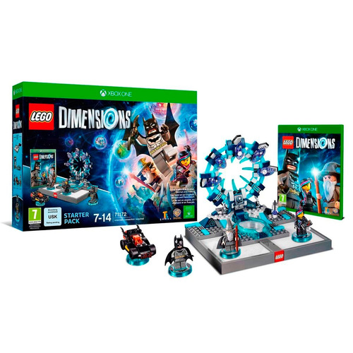 Xbox One Lego Dimensions Starter Pack Fact A-b