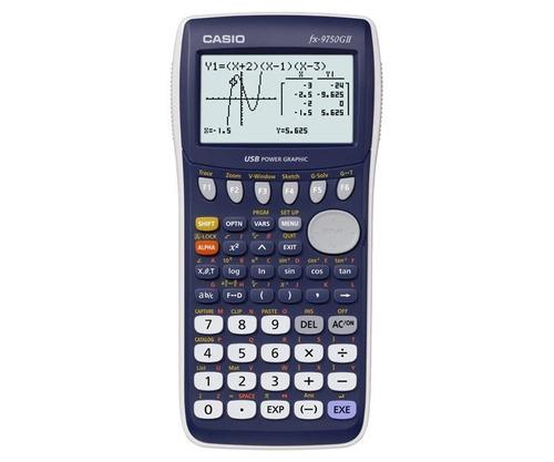 Calculadora Graficadora Casio Fx 9750 Gii Original Nueva