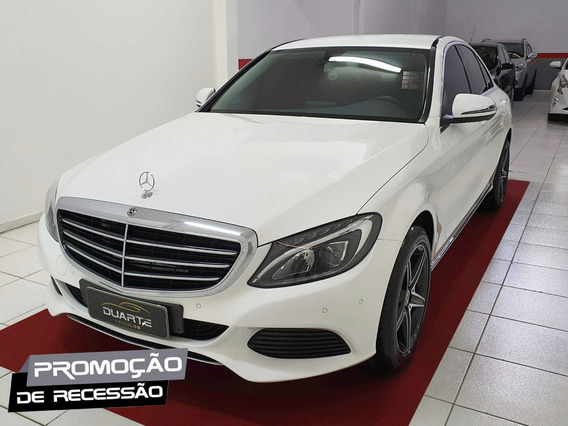 Mercedes-benz C-180 2018 1.6 Exclusive Tb Autom - Impecável