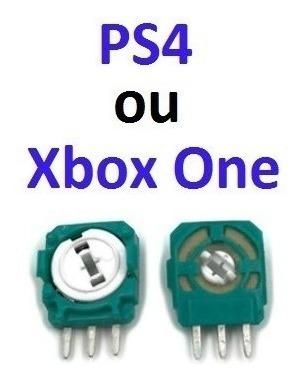 16 Peças Modulo Sensor Analógico 3d Ps4 Xbox One Frete 13