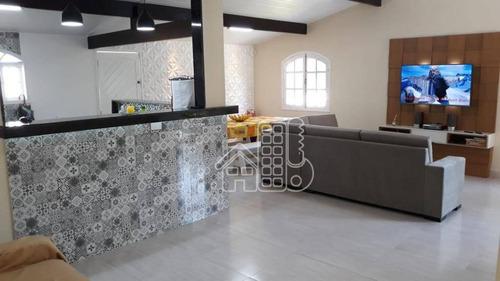 Sitio Em Marica Condomínio Três Reis 2. Com Área De 5300m². - Ch0003