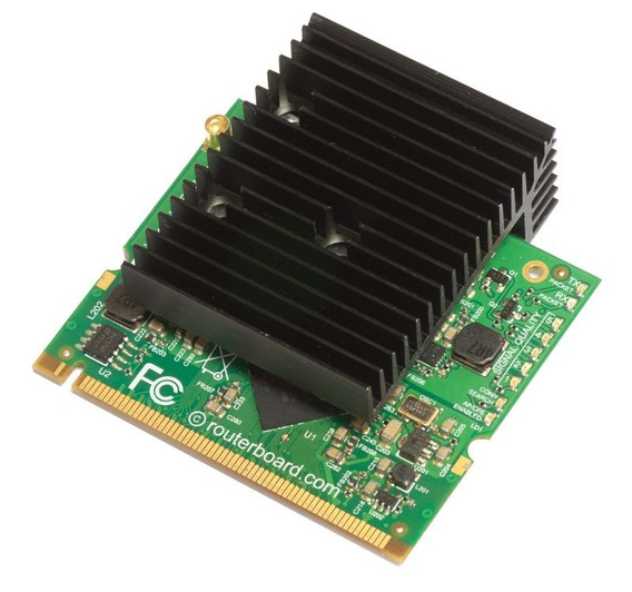 R2shpn Placa Wifi Mikrotik Minipci 800 Mw 2.4ghz B/g/n Mmcx