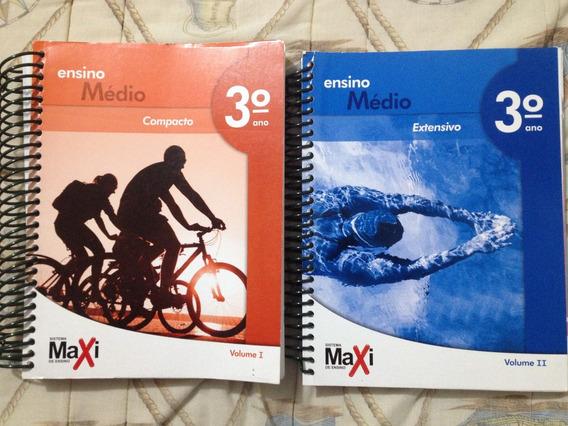 Apostila Sistema Maxi - 3º Ano Extensivo Vol. 1 E 2