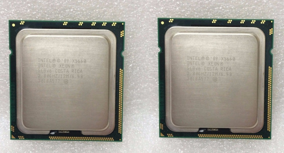 Kit 2 Processadores Intel Xeon X5660 2.80ghz Six Core /1366
