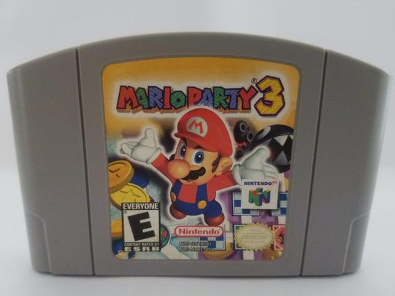 N64 Raro Mario Party 3 Nintendo 64