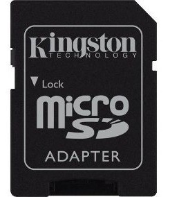 Leitor Adaptador Cartão De Memoria Micro Sd Sandisk/kingston