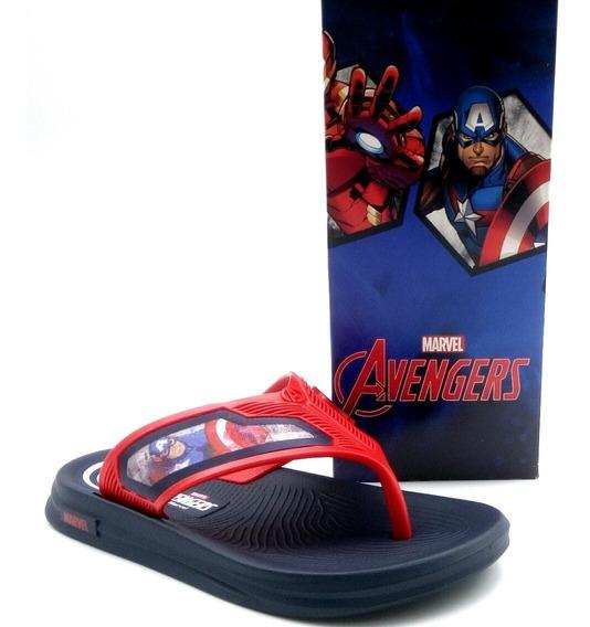 Chinelo Homem De Ferro Capitão América Vingadores 21848