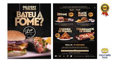 Modelo Flyer Panfleto Folder Empresa / Evento Festa