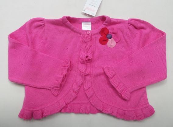 Cardigan Infantil Gymboree 18-24meses Pink Coleção Floral