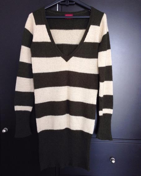 Sweater Sueter Mediano De Lana Para Mujer Bershka