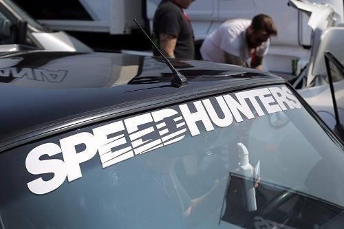 Adesivo Parabrisa Speed Hunters Tunning Carros - 90x11 Cm