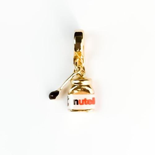 Imagem 1 de 1 de Berloque Nutella - Bd_668