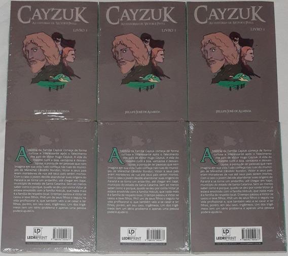 Lote 10 Livros - Cayzuk As Histórias De Victor E Phill Vol.1