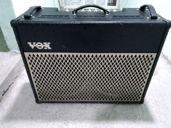 Amplificador Vox Vt100 2x12 Para Reparar, Bajo Volumen.