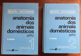 Livro Anatomia Dos Animais Domésticos 2 Vols - Sisson