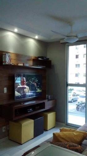 Excelente Apartamento, 2 Quartos Na Taquara. - Ap0073