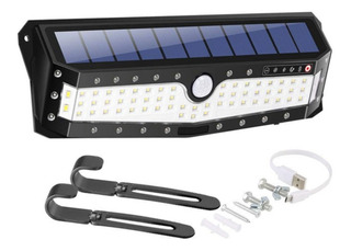 Luz Solar Pared 79 Led Sensor Usb Reflector Lampara