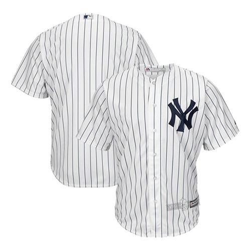 Camisa De Baseball New York Yankees  Branca