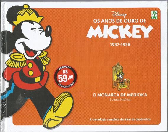 Os Anos De Ouro De Mickey 1937 1938 - Bonellihq Cx260 D18