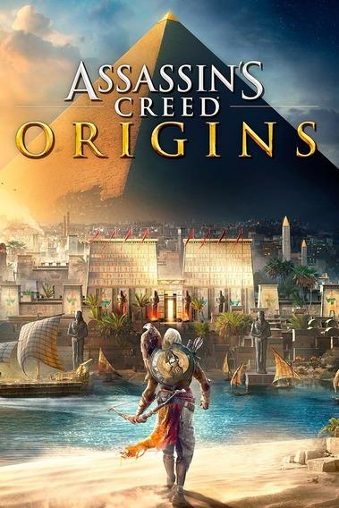 Assassins Creed Origins - Pc Mídia Digital + Brinde