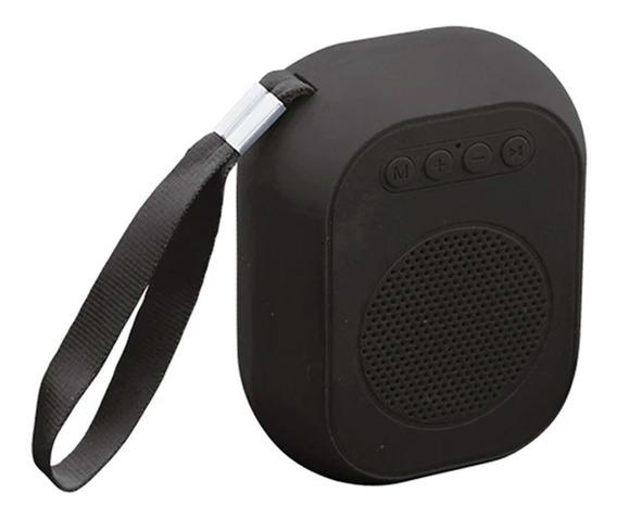 Bocina Bluetooth Portátil Rec Tf Usb Negro 18-9123bk Ksr