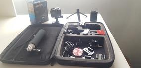 Gopro Hero 5 Black 64gb Hc Com Estojo E Acessórios