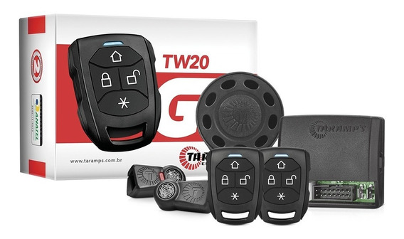 Alarme Automotivo Taramps Tw 20 G3 2 Controles Tr2 Carro