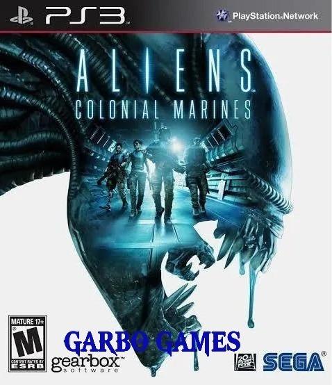 Jogo De Ps3 Aliens Colonial Marine Em Mídia Digital