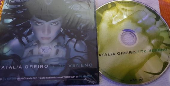 Natalia Oreiro Cd Single Tu Veneno
