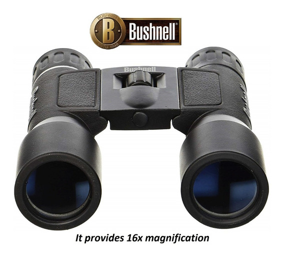 Binóculos Bushnell Powerview 10x32 Com Estojo E Caixa -