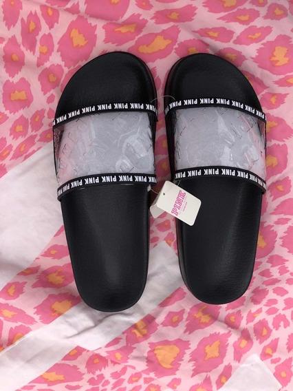 Slides Pink Victorias Secret