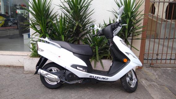 Suzuki Burgman 125i 2018 Branca