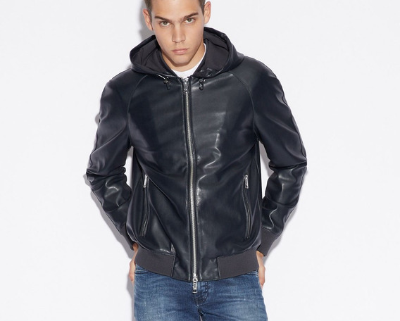 Jaqueta Armani Exchange- Blouson With Hood