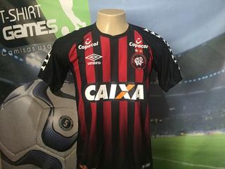 Camisa Do Atlético Paranaense Usada No Brasileiro 2018.