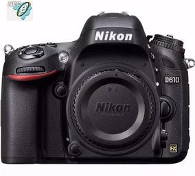 Nikon D610 24.3mp - Full Frame - Somente Corpo - Nova